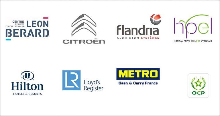 Logos Conventions entreprises Gîtes Ardèche