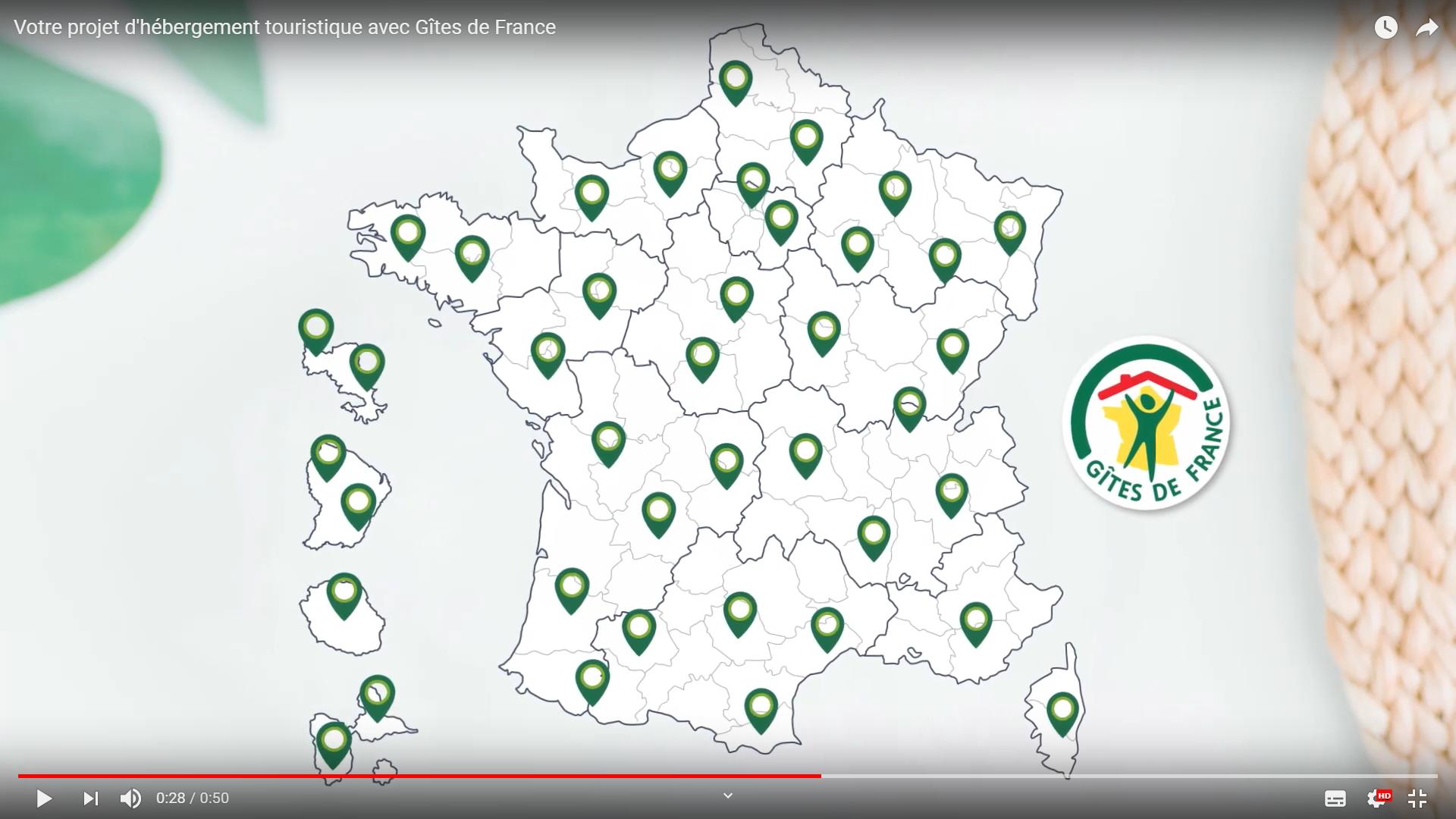 Vidéo Optez pour le label Gîtes de France